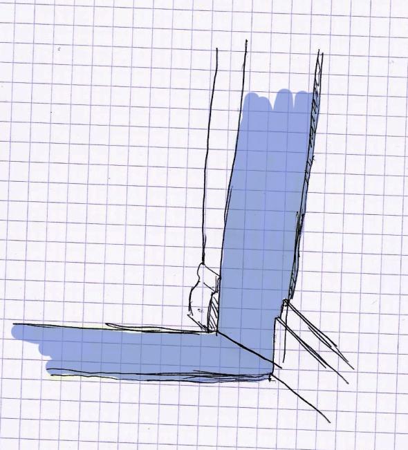 Sketch of floor condition
