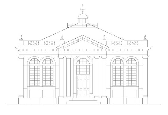 Carnegie-Bldg-Front-Elevation